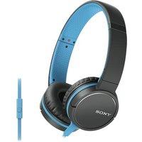 Sony Smartphone Capable Headphones Blue