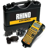 Dymo RhinoPRO 5200 Labelmaker Hard Case Kit Printer Adaptor and Rechargeable Battery for 6-19mm Tapes
