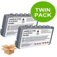 TWINPACK: Epson T557 6 Colour Compatible Cartridge