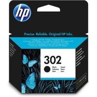 HP 302 Black Original Standard Capacity Ink Cartridge (F6U66AE)
