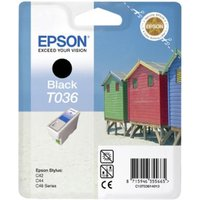Epson T036 (T036140) Black Original Ink Cartridge (Beach Hut)