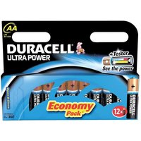 Duracell (AA) Ultra MN1500 Battery Alkaline 1.5V (Pack 12)