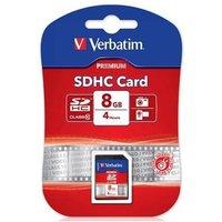 Verbatim 8GB Secure Digital SDHC Card (Class 10)
