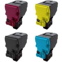 1 Full Set Konica Minolta A0X5151/5451 K/C/M/Y Original Standard Capacity Toner Cartridges