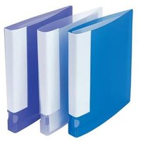 5 Star Office Ring Binder for A4 25mm Capacity Label Holder on Spine [Pack 10]