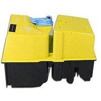 Kyocera TK-820Y Yellow Remanufactured Toner Cartridge