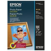 Epson Glossy Photo Paper 200gsm 10 x 15cm (4 x 6) (500 Sheets)