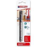 Edding 2000 C Permanent Marker Bullet Tip 1.5-3 mm Line (Black) - 1 x Pack of 10 Permanent Markers