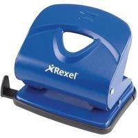 Rexel V230 Value 2-Hole Metal Punch 30 Sheet (Blue)