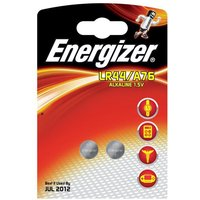 Energizer LR44/A76 Button Cell Battery (Pack of 2)