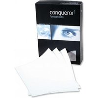 Conqueror Paper Smooth/Satin Wove Brilliant White Paper A4 100gsm (Pack of 50)