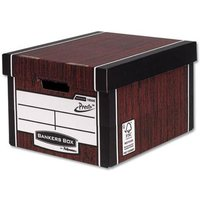 Fellowes Bankers Box Premium 725 Classic Storage Box (1 x Pack of 10 Storage Boxes)