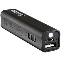 Bitmore Juucee 2600 mAh Ultra-Compact Portable Battery Backup Charger with LED Torch - Black