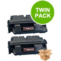 TWINPACK: Canon FX6 Remanufactured Black Toner Cartridge