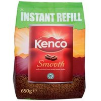 Kenco Smooth Coffee Refill Pack 650g