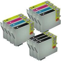 5 x Epson (T0561) Black and 2 x Epson Color Set (T0562-64) Compatible Cartridges