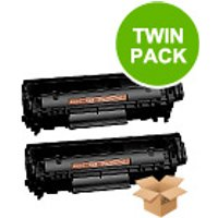 TWINPACK: Canon FX10 Remanufactured Black Toner Cartridge