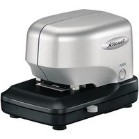 Rexel Stella 30 Half Strip Cartridge Stapler (Silver/Black)