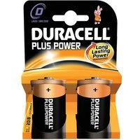 Duracell (D) Plus Battery (Pack of 2)