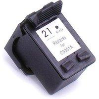 HP 21 Black Remanufactured Printer Ink Cartridge