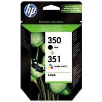 HP 350/351 (SD412EE) Original Multipack Ink Cartridges