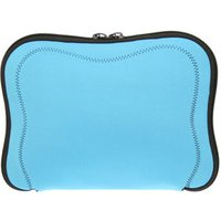 Blue Memory Foam Neoprene Laptop / Notebook Sleeve With Black Stitching Up to 10.2 Inch Laptops