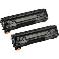 TwinPack: Canon 713 (1871B002AA) Remanufactured Black Toner Cartridge
