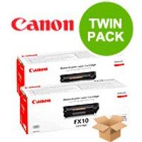 TWINPACK: Canon FX10 Original Black Toner Cartridge
