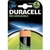 Duracell Rechargeable NiMH 9V Battery (170mAH)