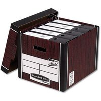 Fellowes Bankers Box Premium 726 Archive Storage Box (1 x Pack of 10 Storage Boxes)