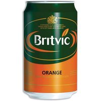 Britvic (330ml) Orange Juice Pure Can Pack of 24 cans