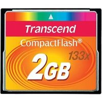 Transcend 133X (2GB) CompactFlash Card