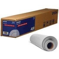 Epson S041393 Premium Semi-Gloss White Photo Paper Roll (24in x 100Ft)