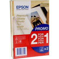 Epson S042153 Glossy Photo Paper 4 x 6 Buy 1 Get 1 free (2 x 40 sheets)