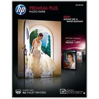 HP Premium Plus (13 x 18cm) Glossy Snapshot Photo Paper (20 Sheets)