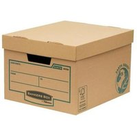 Fellowes Bankers Box Earth Series Budget Storage Box (1 x Pack of 10 Storage Boxes)