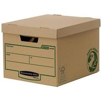 Fellowes Bankers Box Earth Series Heavy Duty Storage Box (1 x Pack of 10 Storage Boxes)