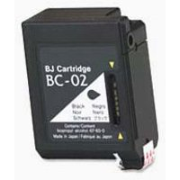 Canon BC-02 Black Remanufactured Ink Cartridge