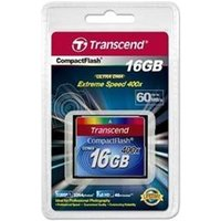 Transcend 400X 16GB CompactFlash Card