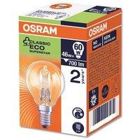 Stearn Electric E14 Light Bulb SES Golf Ball Screw Fitting 40W Clear