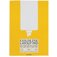 Layout Pad Bank Paper Acid Free 50gsm 80 Sheets A4