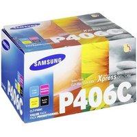 Samsung CLT-P406C Black/Cyan/Magenta/Yellow Original Standard Capacity Multipack