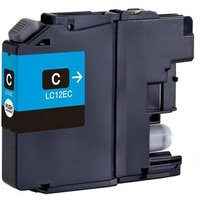 Brother LC12EC Cyan Compatible Ink Cartridge
