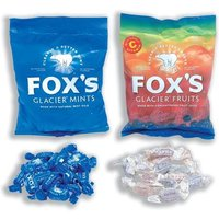 Foxs (175g) Glacier Mints Wrapped Boiled Sweets in Bag