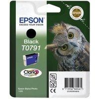 Epson T0791 (T079140) Black Original Ink Cartridge (Owl)