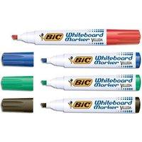 Bic Velleda 1751 Chisel Tip Whiteboard Marker Line Width 3.7-5.5mm (Assorted Colours) Ref 927261 (Pack of 48 Pens)