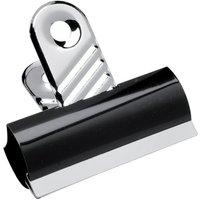 5 Star (70mm) Grip Clips Metal (Black) Pack of 10