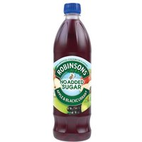 Robinsons Special R Squash No Added Sugar Apple and Blackcurrant 1 Litre (Pack of 12)