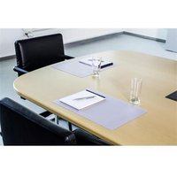 Durable DURAGLAS (420 x 300mm) Desk Mat (Transparent) for Conference Rooms