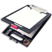 Clipcase (A4) Clipboard with Built in Calculator (Black)